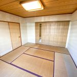 和室2は約8帖のスペースがあります。(寝室)