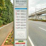 JR京葉線新浦安駅、東京メトロ東西線浦安駅行きバス停まで徒歩7分。(周辺)
