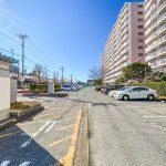 サンコーポ浦安の駐車場は平置き駐車場です。(周辺)