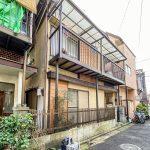 浦安駅徒歩6分の一戸建て。賃貸中のため、室内を見ることはできません。(外観)