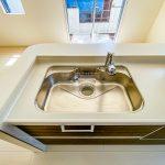 キッチン水栓は浄水器一体型水栓です。(キッチン)