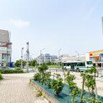 新浦安エリアはきれいに区画整理された計画都市。すっきりとした街並みが広がっています。(周辺)
