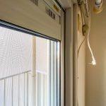 窓は2015年に複層ガラスサッシに交換されました。(内装)