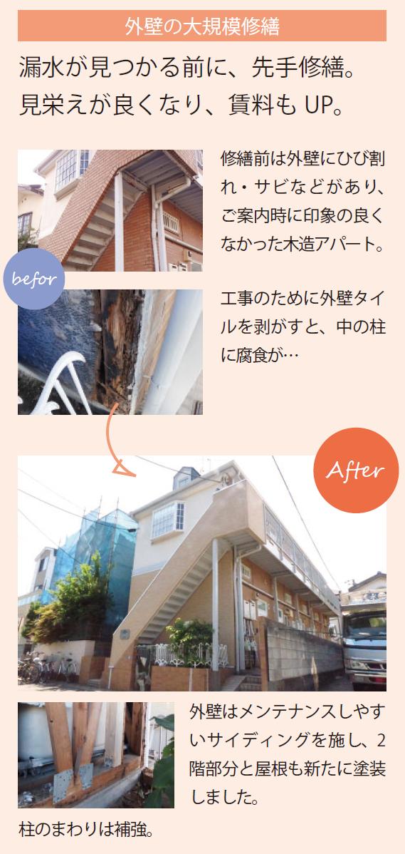外壁の大規模修繕