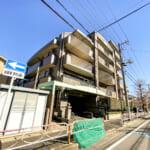 東京メトロ東西線浦安駅徒歩9分、南行徳駅徒歩10分。2駅利用可能なマンションです。(外観)