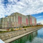 総戸数550戸の大規模マンション。三井不動産レジデンシャルがしっかりと管理しているマンションです。(外観)