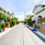 浦安市舞浜3丁目は50坪区画の閑静な分譲地です。(周辺)