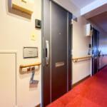 玄関扉は2011年に交換されました。(玄関)