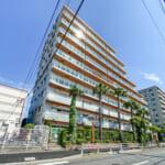 2009年に新日本建設が分譲したマンション。セキュリティ、構造などに優れています。(外観)