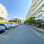富岡エステートの駐車場は自走式平置き駐車場です。(周辺)