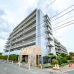 伊藤忠アーバンコミュニティがしっかりと管理しているマンション。(外観)