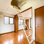3階洋室の上部にはロフトがあります。(内装)