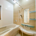 浴室暖房換気乾燥機が付いているユニットバス。(風呂)