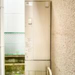 給湯器には省エネに優れているエコキュートを使用しています。