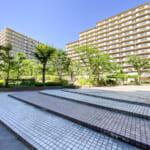 エルシティ新浦安の敷地内はきれいに整備されています。(周辺)