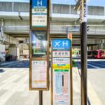 羽田空港行きリムジンバス停留所まで徒歩2分(成田空港行きは運休中)。(周辺)