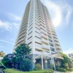 浦安市明海1丁目、夢海の街(ゆめみのまち)1号棟のご紹介です。25階建てのタワーマンションです。(外観)