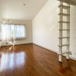 ロフトがある3階洋室8.2帖。(寝室)